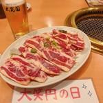 大昌園 - カルビ4人前+生ビール