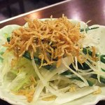 居酒屋 餃子のニューヨーク - ジャコネギサラダ