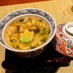84770791 - 蒸鮑入り野菜饅頭玉