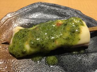 のあ - ささみ バジルソース¥250(税別)