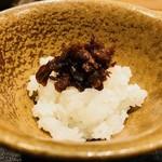 おにく 花柳 - 新潟県 雪椿 の御飯!