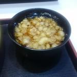 Yudetarou - ミニかけ蕎麦