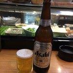 84775494 - 瓶ビール大d(*゚.▽゚*)¥500円