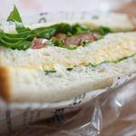 ペンギン ベーカリーカフェ - 野菜サンド