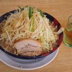 太一商店 - 20食限定 九州極太麺 780円(野菜多め)