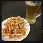 林さんの台所 - 生ビール&ネギチャーシュー