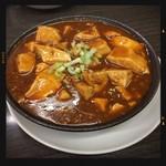 林さんの台所 - セットの麻婆豆腐