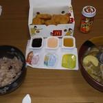マクドナルド - ナゲットは豚汁・赤飯と共に(かんずりは豚汁用)