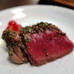 84783537 - ランプ肉のステーキ