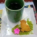 アニメイトカフェ - 期間限定・紅月の緑茶セット(アニメイトカフェ 池袋店)
