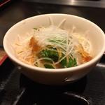 鉄板料理 堂島 - 大根サラダ