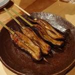 炭焼厨房 笑○ - ニシン焼き(2018.04)