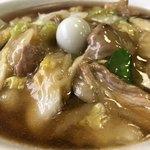 中華料理広東亭 - 甘めのスープが最高‼︎