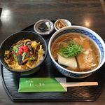 そば処 にし村 - 料理写真:ちらしずし定食  ¥1000