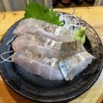 さしみや五坪 - 炙り太刀魚