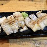 さしみや五坪 - 穴子白焼き