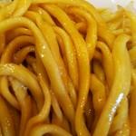 ラーメン二郎 - サルジの激ウマ麺。