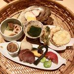 四季膳 ほしや - 籠盛りのお料理