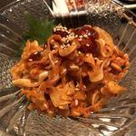 すみびやき串串 - ミミガーのチャンジャ