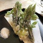 そらとぶじゅうたん - 料理写真:コシアブラの天ぷら