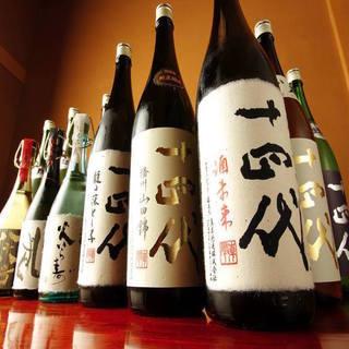【幻の銘酒『十四代』】他にはない充実した日本酒の数々!