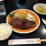 鎌田 - 200g弱ステーキセット 1,300円