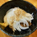 おばこ - オニオン納豆 350円