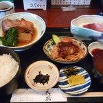 味処 天裕 - おすすめ定食(700円)