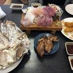 西村食堂 - 造り定食と焼き魚定食 各@2600