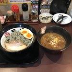 味噌屋八玄 - ★濃厚煮干しつけ麺 790円