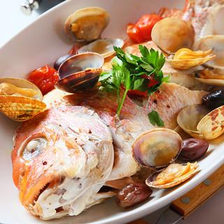 日本海直送☆新鮮な魚介料理!