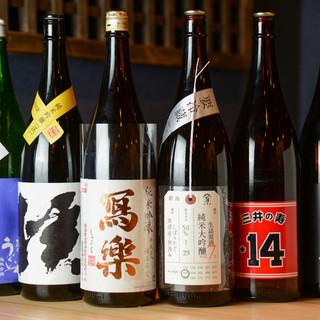 ◇店主厳選◇料理の味を引き立てる日本酒、あり〼