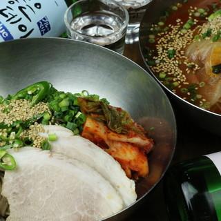 オーダー数TOP★注文後に製麺する、こだわりの【手打ち冷麺】