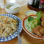 まんぷく飯店 - 料理写真:本日の日替わり