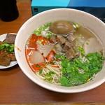 蘭州料理 ザムザムの泉 - ザムザムセット(肉蛋双飞)