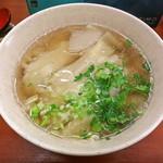 蘭州料理 ザムザムの泉 - 蘭州牛肉麺 (替玉)