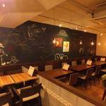 ビストロカフェ グラポン - 内観写真