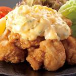 さつま赤鶏のチキン南蛮~自家製タルタルで~
