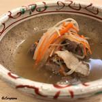 吉香 - 猪肉の沢煮椀