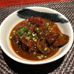 酒場食堂とんてき - 赤味噌でじっくり煮込んだ「牛スジどて煮」