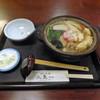 久良一 - 料理写真:鍋焼きうどん(1030円)_2018-04-25
