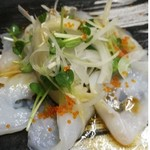 藤すし - 水タコと、白身魚の、カルパッチョ