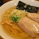 らーめん雅ノ屋 - 塩ラーメン(細麺) 650円