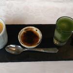 ラ・ブランシュ - 小菓子、食後の珈琲