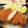 松のや - 料理写真:味噌厚切りロースかつ定食(ご飯大盛り サービス中です)780円(税込)の ロースカツ。     2018.04.25