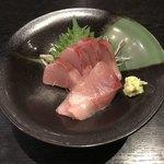 和食処みずの - ハマチの刺身