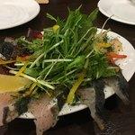 ナチュラ - 本日の‼︎カルパッチョ 初カツオ、本サワラ、白ミル貝炙り
