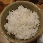 凛空 - ご飯(お代わり自由):国産牛ハンバーグプレート