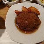 凛空 - 国産牛ハンバーグ:国産牛ハンバーグプレート