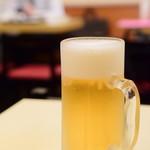 神楽坂飯店 - 生ジョッキビール@500円